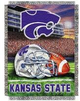 NCAA Kansas State Wildcats Home Field Advantage College Throw