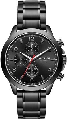 Kenneth Cole New York Men's Black Stainless Bracelet Watch