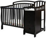 Dream On Me Caso 4-in-1 Convertible Mini Crib and Dressing Table