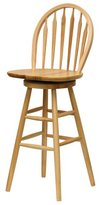 Winsome Wood 30-Inch Windsor Swivel Seat Bar Stool
