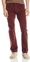 Mavi Jeans Men's Zach Burgundy Twill Pant, 32x32