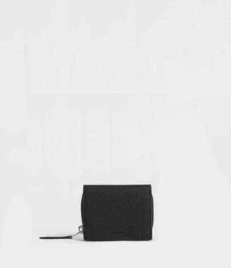 AllSaints Captain Small Leather Wallet