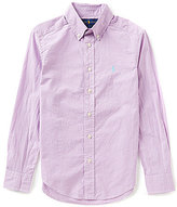 Ralph Lauren Big Boys 8-20 Checked Poplin Shirt