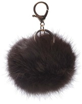 PIPE AND ROW Fur Keychain
