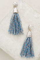 Anthropologie Shimmered Pinata Drop Earrings