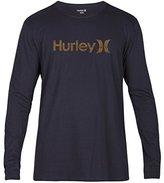 Hurley One & Only Push Through L/S T-Shirt Mens Sz L