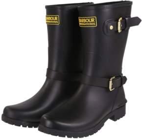 Barbour International - Monza Black Short Wellies - black   38/ UK 5 - Black/Black