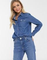 Lee Jeans regular fit western denim shirt