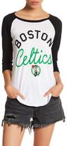 Junk Food Clothing Boston Celtics 3/4 Length Sleeve Tee
