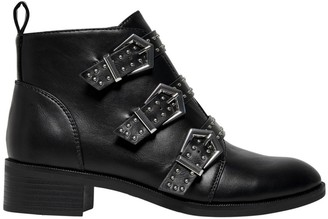 Only Bright Boots with Buckles