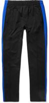 Our Legacy Striped Cotton-blend Jersey Sweatpants - Black