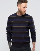 Paul Smith PS by Sweater With Stripe In Crew Neck