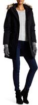 NOIZE Tash Removable Faux Fur Trim Hooded Coat