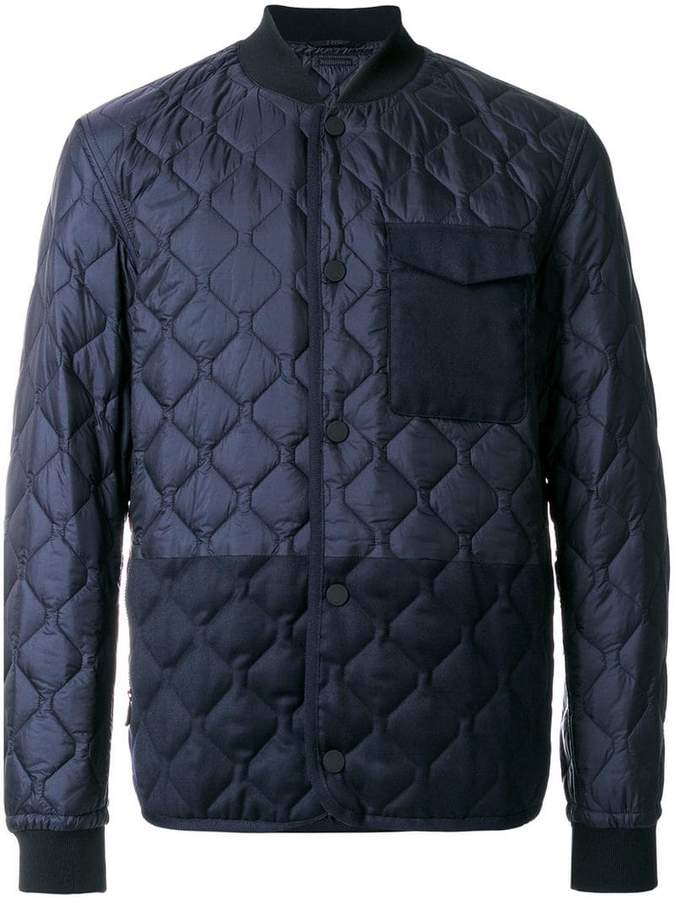 Z Zegna quilted puffer jacket