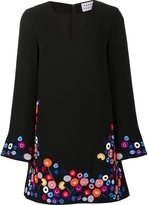 Tanya Taylor floral embroidery dress