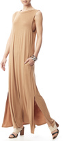 Cherish Caramel Maxi Dress