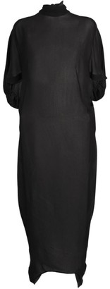 Petar Petrov Arnina High-Neck Dress