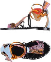 MSGM Toe strap sandals