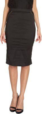 Nina Ricci Side Zip Pencil Skirt