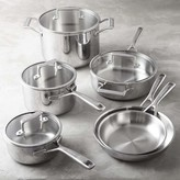 KitchenAid Tri-Ply Stainless-Steel 10-Piece Cookware Set