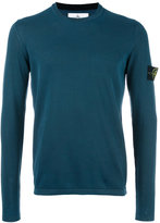 Stone Island logo patch sweatshirt - men - Cotton - XL