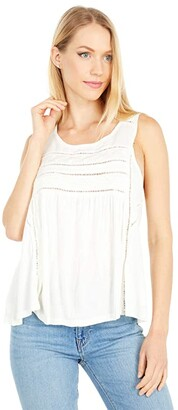 O'Neill Tokeen Tank Top (Winter White) Women's Sleeveless