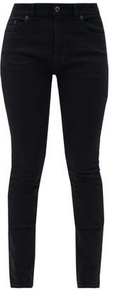 Balenciaga V-back Straight-leg Jeans - Black