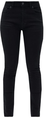 Balenciaga V-back Straight-leg Jeans - Womens - Black