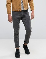 Asos Skinny Jeans With Gray Tint