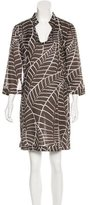 Tory Burch Abstract Print Mini Dress
