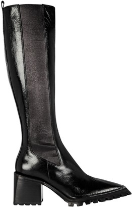 Alexander Wang Parker Chelsea Leather Knee-High Boots