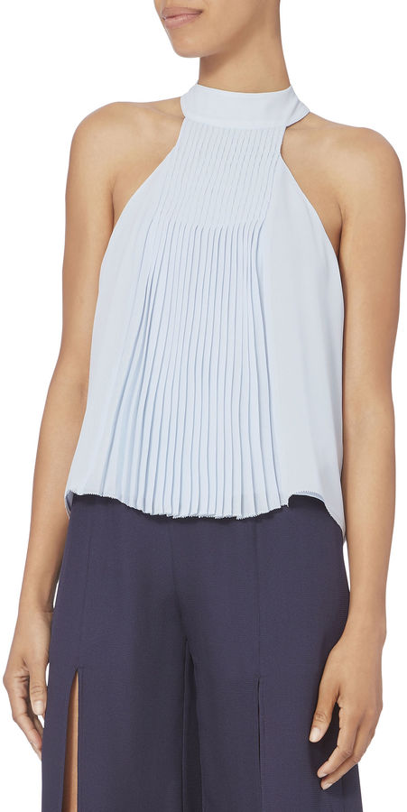 Exclusive for Intermix Blair Pleated Top
