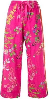 Cynthia Rowley Botanical Print Pyjama Bottoms