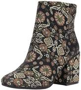 Kenneth Cole New York Women's Reeve Block Heel Brocade Ankle Bootie