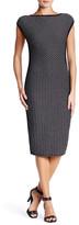 Max Studio Knit Cap Sleeve Dress