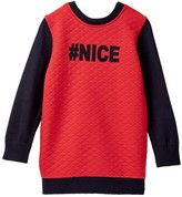 Andy & Evan Naughty Nice Quilted Reversible Tunic (Toddler & Little Girls)