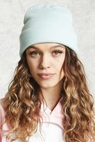 Forever 21 Knit Fold-Over Beanie