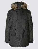 Limited Edition Faux Fur Parka Coat