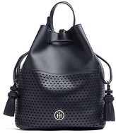 Tommy Hilfiger Hearts Leather Bucket Bag