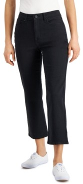 William Rast Wide-Leg Cropped Jeans