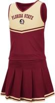 Colosseum Girls Youth Garnet Florida State Seminoles Pinky Cheer Dress