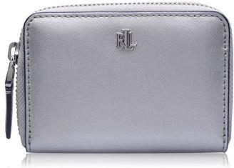 Lauren Ralph Lauren Lauren Leather Zip Around Wallet