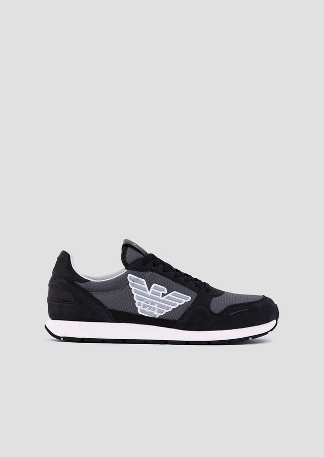 Emporio Armani Sneakers With Side Logo