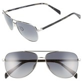 Salt Men's 'Rex' 60Mm Polarized Sunglasses - Tempest Grey/ Grey