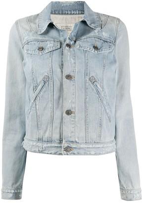 Givenchy Light Wash Denim Jacket