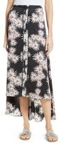 Elizabeth and James Women's Mae Floral Print High/low Skirt