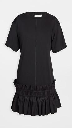 See by Chloe Drop Waist T-Shirt Dress