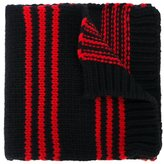 Moncler striped knit scarf - kids - Virgin Wool - One Size