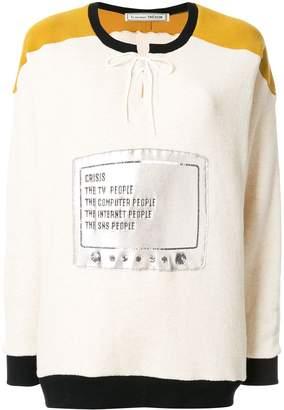 Fahrenheit Tu es mon TRÉSOR 451 sweatshirt