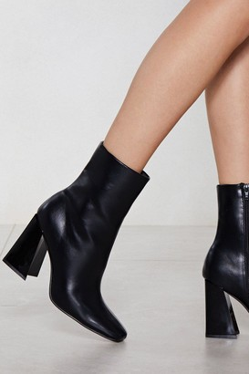 Nasty Gal Womens Flare for Dramatics Heeled Bootie - black - 3